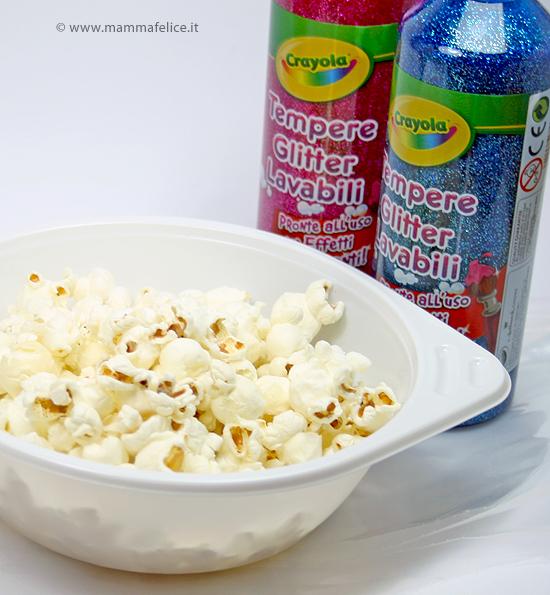 popcorn colorati