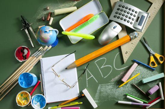 tenere in ordine materiale scolastico