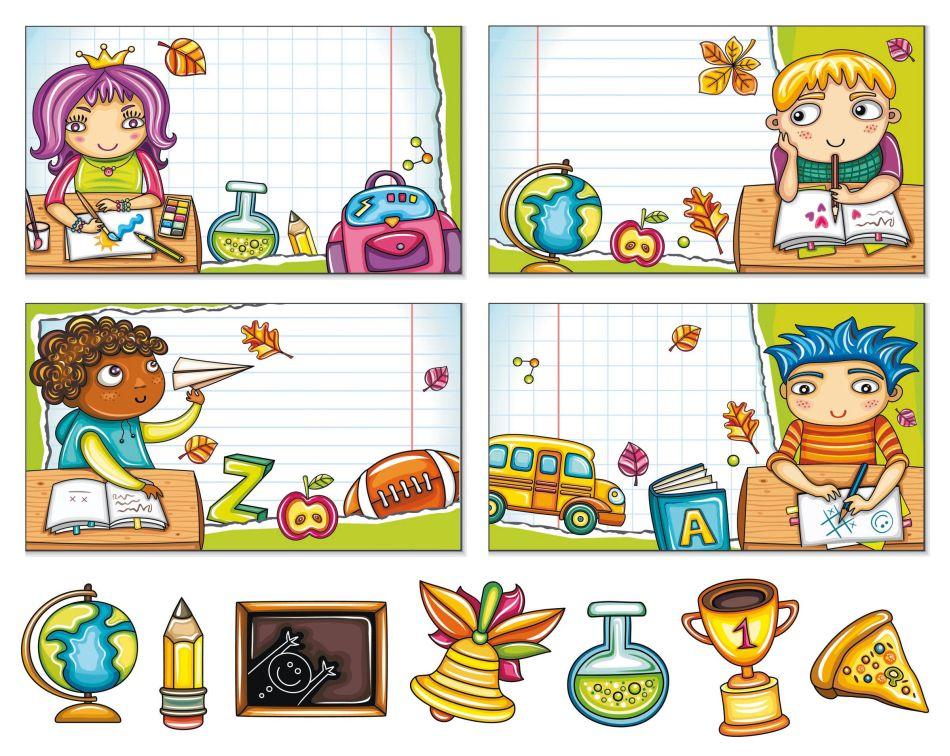 Etichette per la scuola mamma felice - Libri di scuola materna stampabili gratuitamente ...