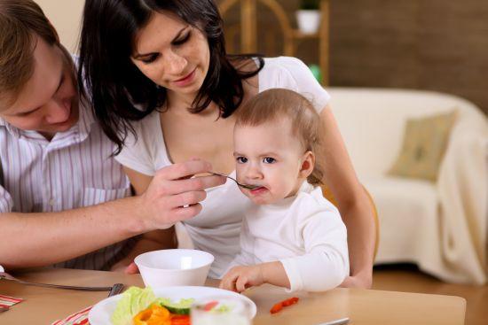 menu per i bambini e la famiglia