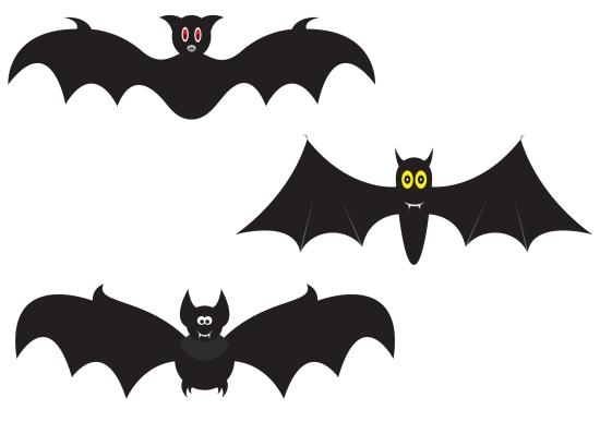 Halloween ghirlanda pipistrello mamma felice - Immagini pipistrello da stampare ...