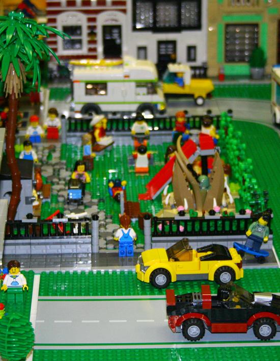 città lego in miniatura
