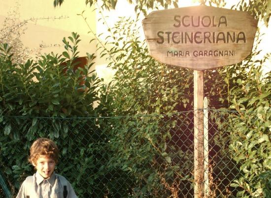 bambini alla scuola steineriana