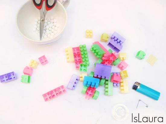 collana di lego occorrente