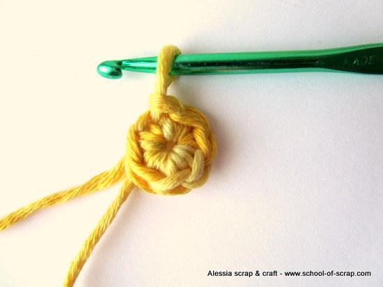 Scuola di Uncinetto: lavorare in tondo