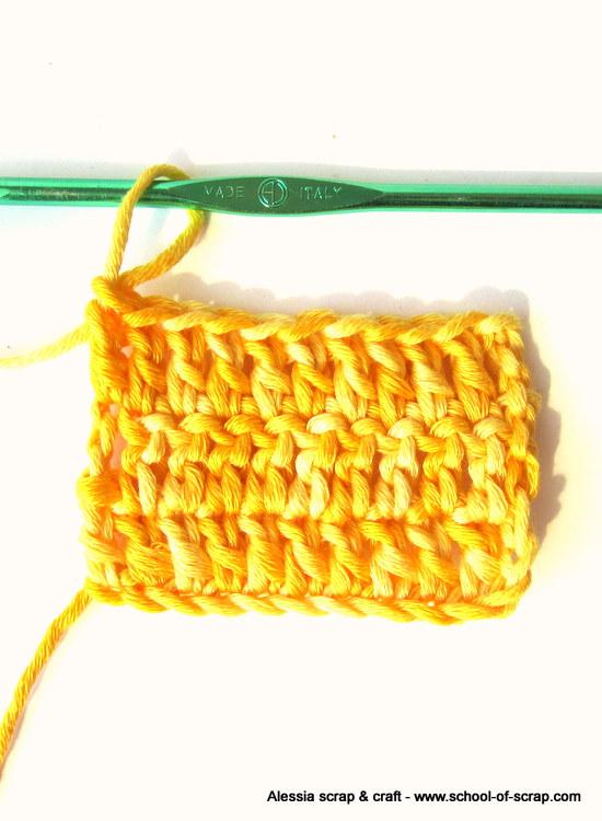 Uncinetto Facile: la maglia alta