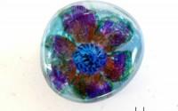 Perle di vetro disegnate