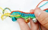 Cavigliera per bimbe a crochet