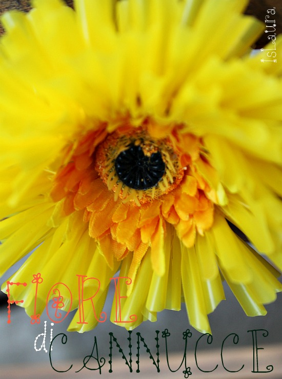 fiore di cannucce