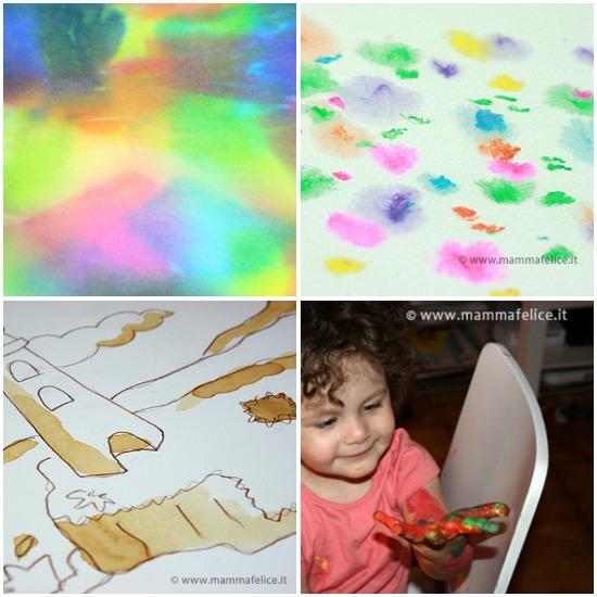 Eccezionale Dipingere con i bambini | Mamma Felice MY99