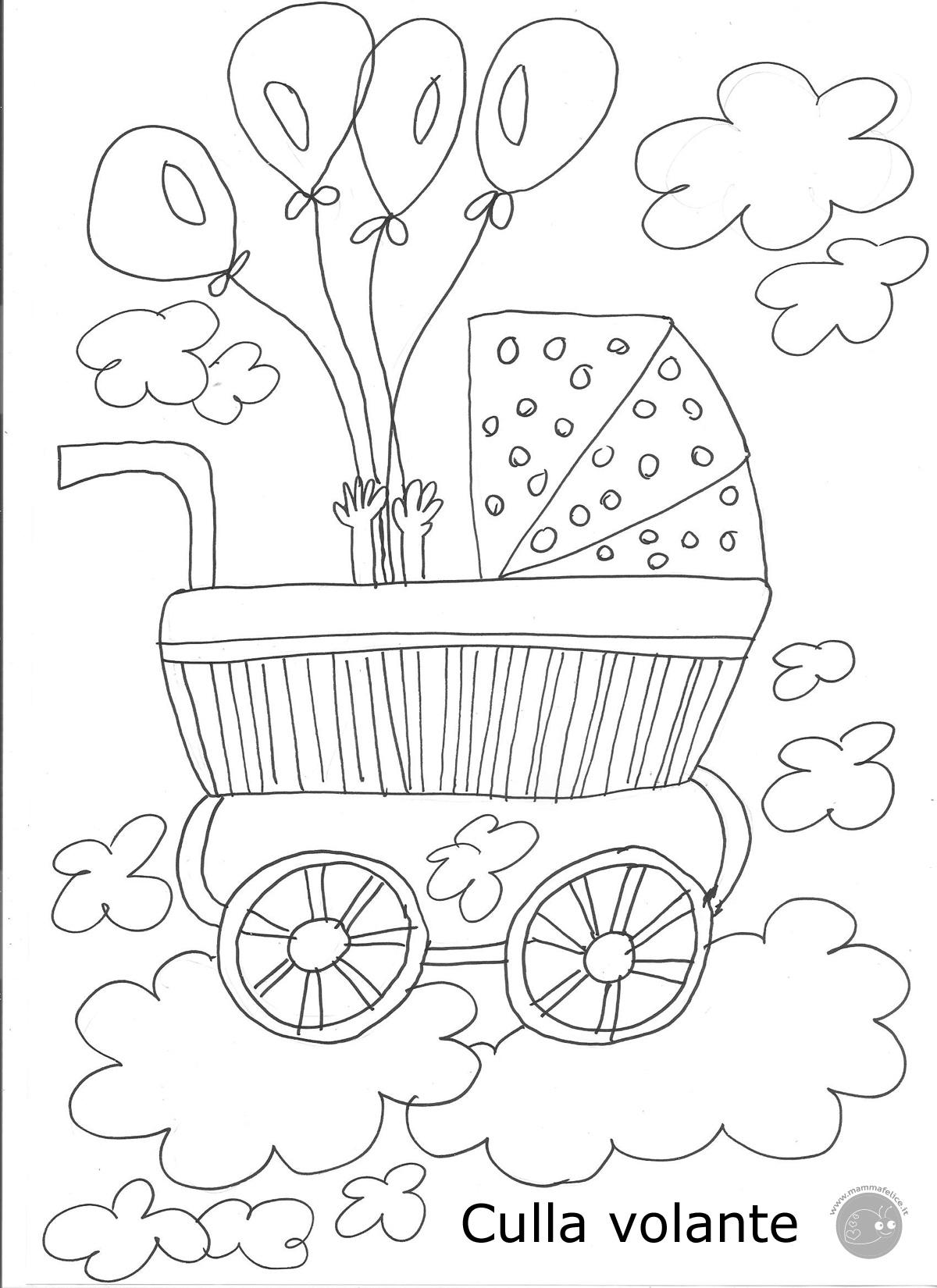 Maternita Disegni Per Bambini Da Colorare Auto Electrical Wiring