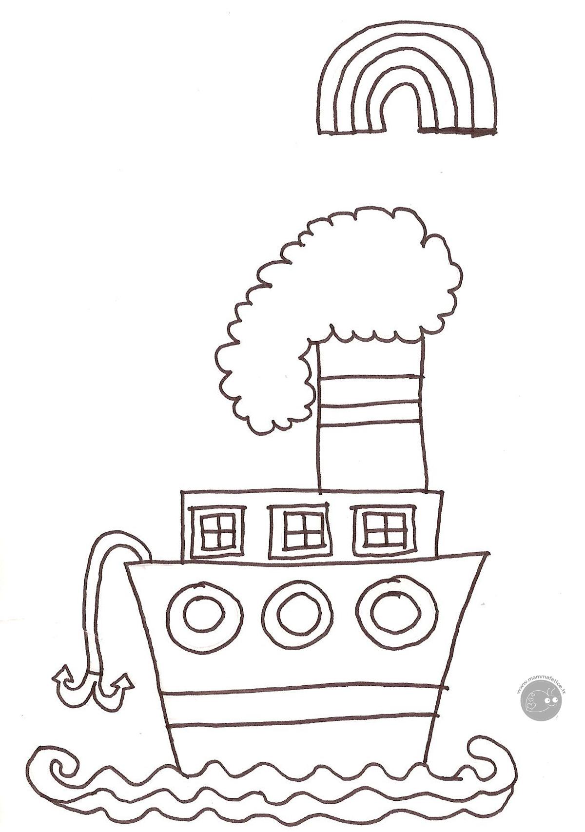 Disegni mammafelice disegni da colorare gratis per bambini for Disegni di garage gratis