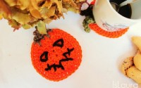 zucca di Halloween a crochet