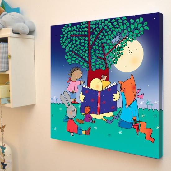 Adesivi murali per bambini stikid mamma felice - Quadri per cameretta ...