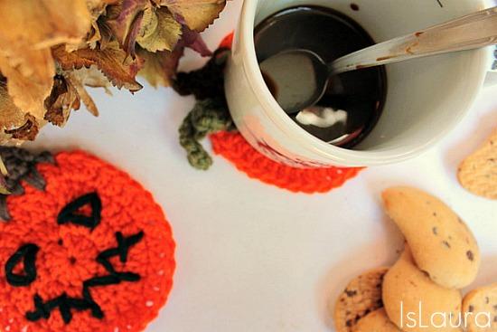 zucca a crochet Halloween