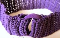 Uncinetto: la fascia elastica per i capelli