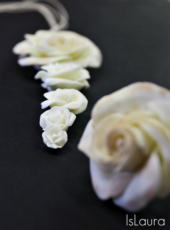 fiori di pasta di mais