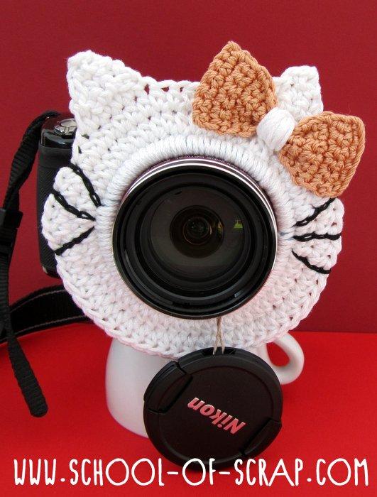gattino all'uncinetto per la fotocamera-001