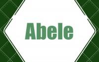 Abele