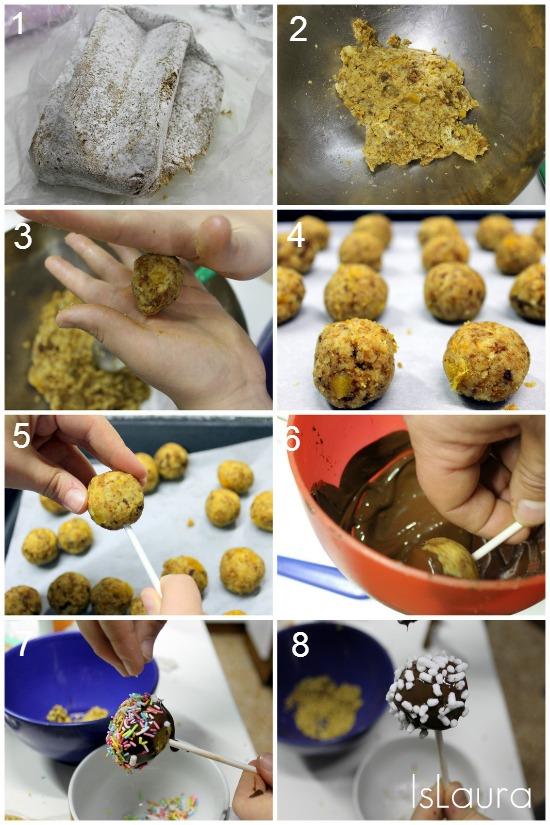 collage dolcetti di pandoro