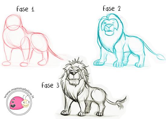 Top Come disegnare gli animali   Mamma Felice CM89
