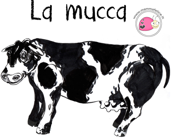 come-disegnare-una-mucca