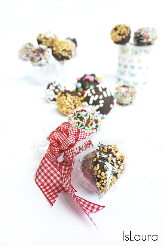 dolcetti con pandoro cioccolato