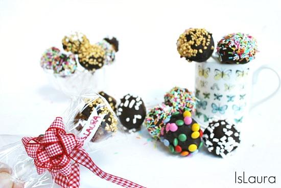 dolcetti con pandoro e cioccolato