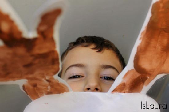 maschera di renna per Natale