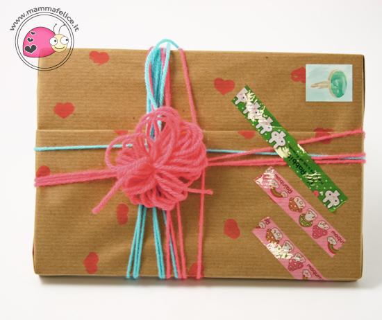 Pacchetti regalo con carta riciclata mamma felice for Pacchetti soggiorno regalo