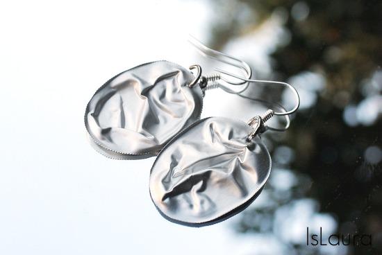 orecchini di capsula medicine