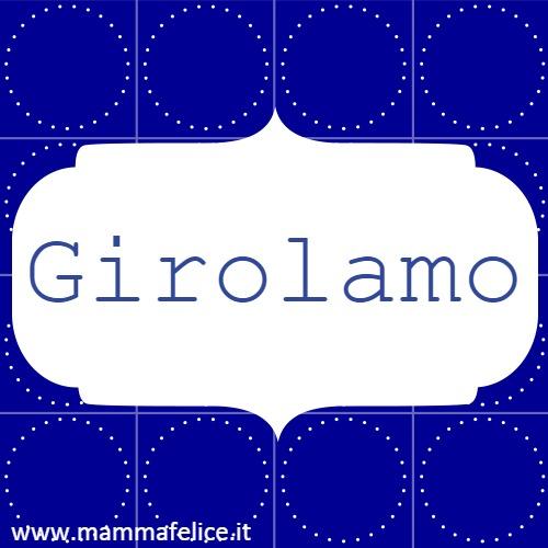 Girolamo