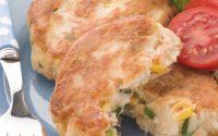 Polpette di tonno e patate senza uova light