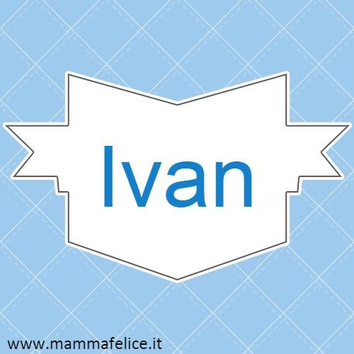 nomi-bambini-ivan