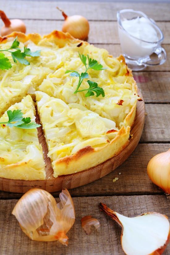 quiche-vegetariana-alle-cipolle-torta-salata-cipolla