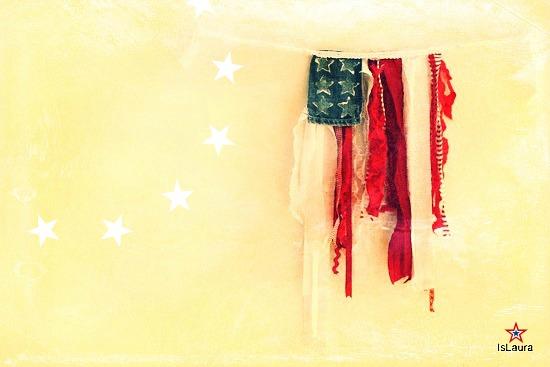 Tutorial bandiera americana lavoretti 4 luglio