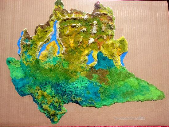 Geografia per bambini come fare una cartina dell 39 italia - Mappa dell inghilterra per i bambini ...