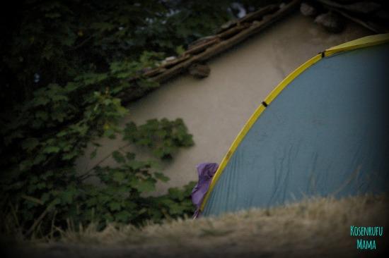 dormire tenda in estate