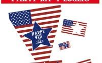 4 Luglio, Festa dell'Indipendenza Americana: kit per le feste