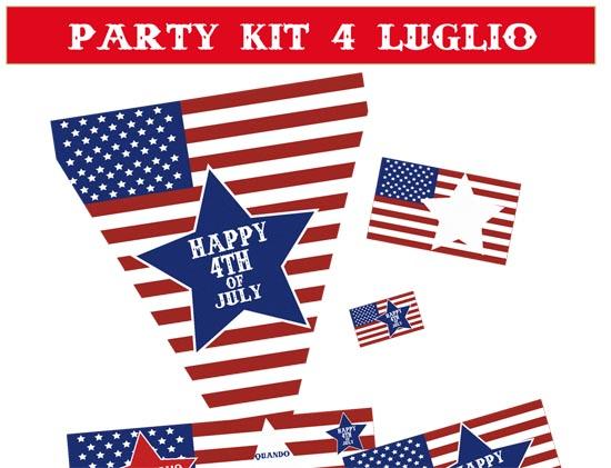 festa-indipendenza-americana-4-luglio-bandierine-giochi-decorazioni-bandierine-panini
