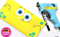 Come realizzare porta salviette in comma crepla di Spongebob Tutorial creativi