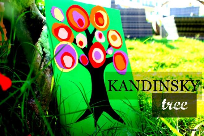 Come realizzare un Kandinsky trees albero cartoncino opera per bambini