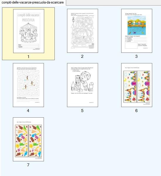 schede-da-stampare-compiti-vacanze-prescuola-giochi-estate-gratis