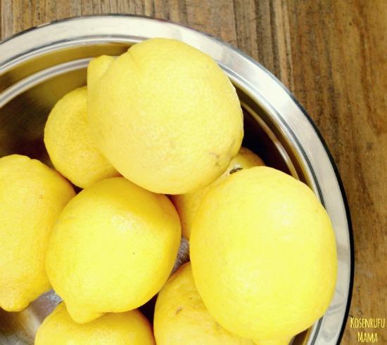 limone dissetante in estate