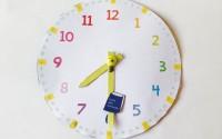 Insegnare a leggere l'orologio ai bambini: PDF da scaricare