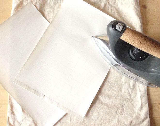 Molto Decorare una borsa di tela con stampa personalizzata | Mamma Felice QO73