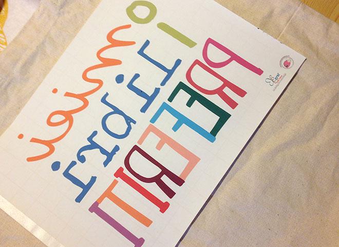 Eccezionale Decorare una borsa di tela con stampa personalizzata | Mamma Felice MD38