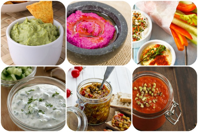 piatti-vegetariani-hummus-dip-salse