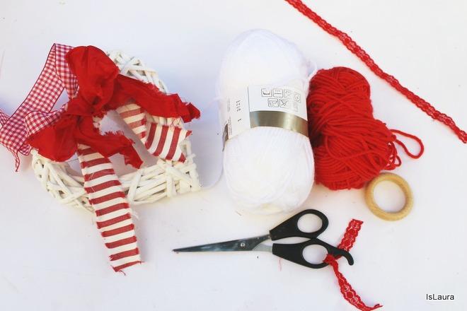 Come realizzare un Babbo Natale da appendere
