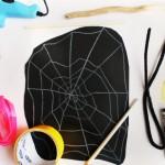 Occorrente gioco attività ragno per Halloween